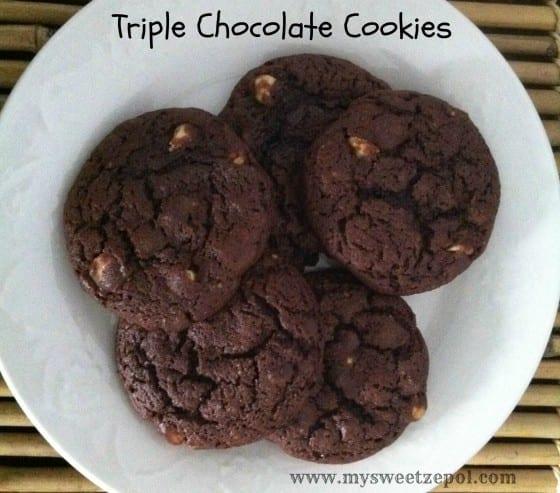 31-Days-of-Cookies-Triple-Chocolate-Cookies-my-sweet-zepol