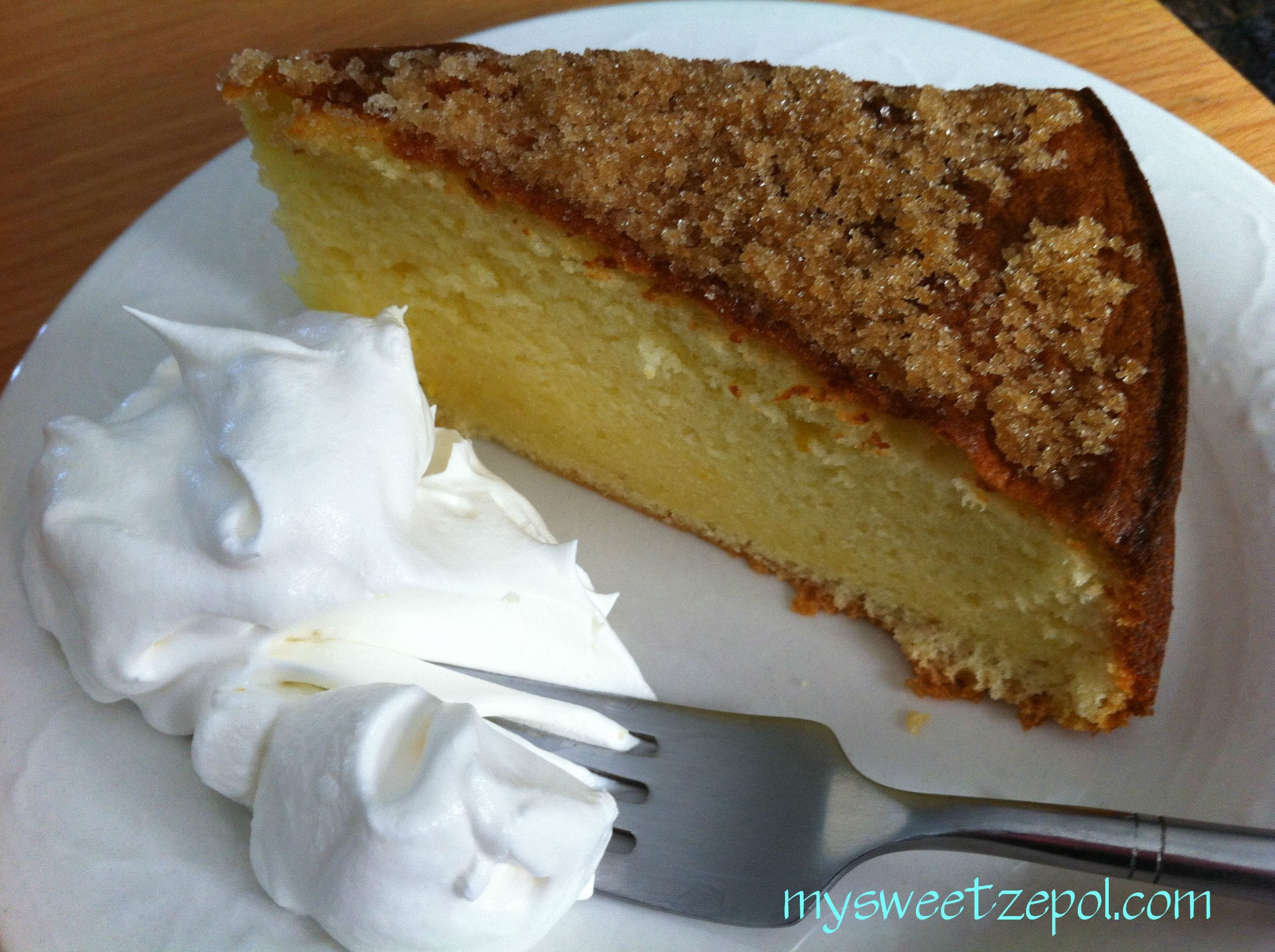 Olive Oil Cake with Brown Sugar - My Sweet Zepol
