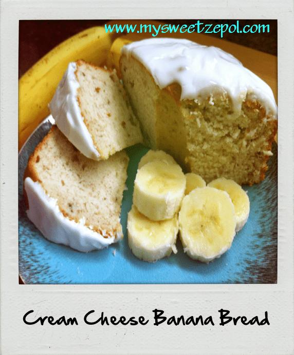 46f900baa7a147 Creamy Banana Bread  Cream Cheese Banana Bread
