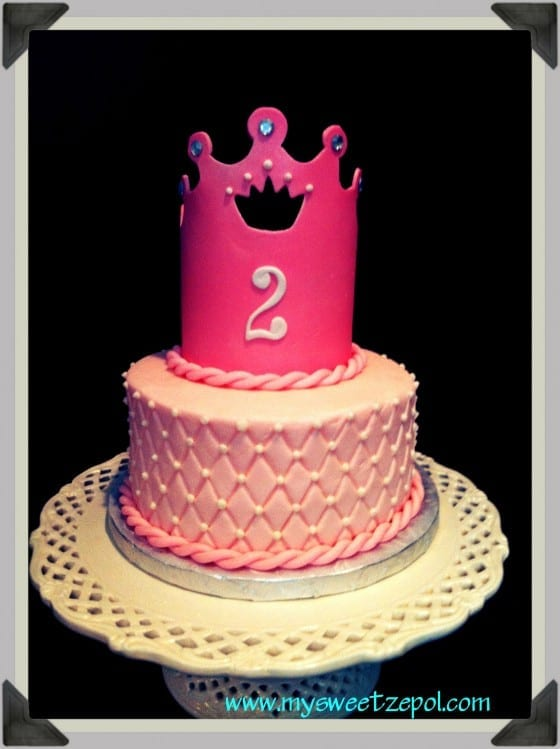 Pretty Princess Birthday Cake My Sweet Zepol