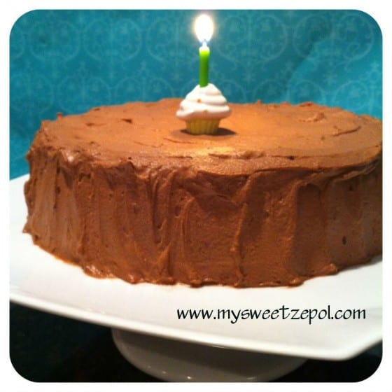 Nutella Cream Cheese and Chocolate Cake