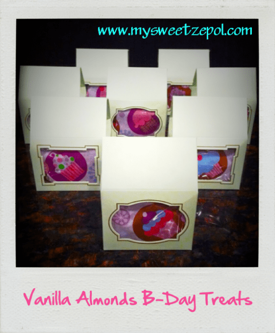 Vanilla Almonds Party Favors, Vanilla Almonds Treats, Vanilla Almonds Snacks