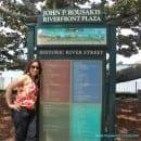 Historic River Street in Savannah GA and My Sweet Zepol