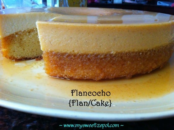 Cream Cheese Flancocho / #recipe by My Sweet Zepol