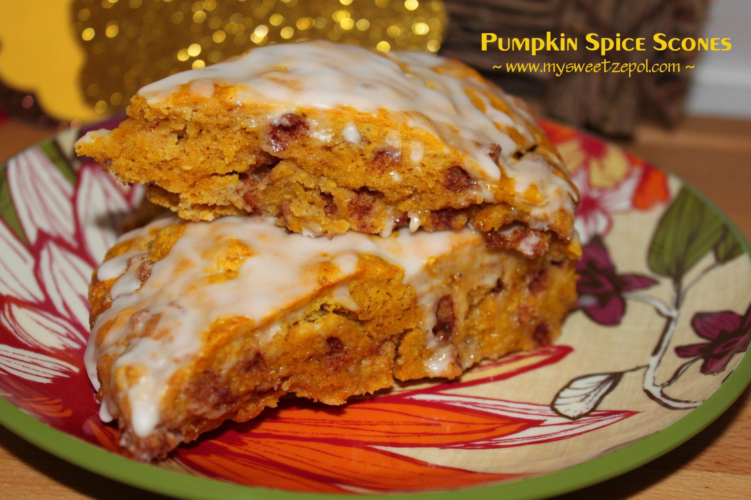 Pumpkin Spice Scones by mysweetzepol