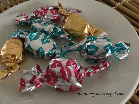 Valentines day gift option, DIY sea salt caramels, sweet and salty treat
