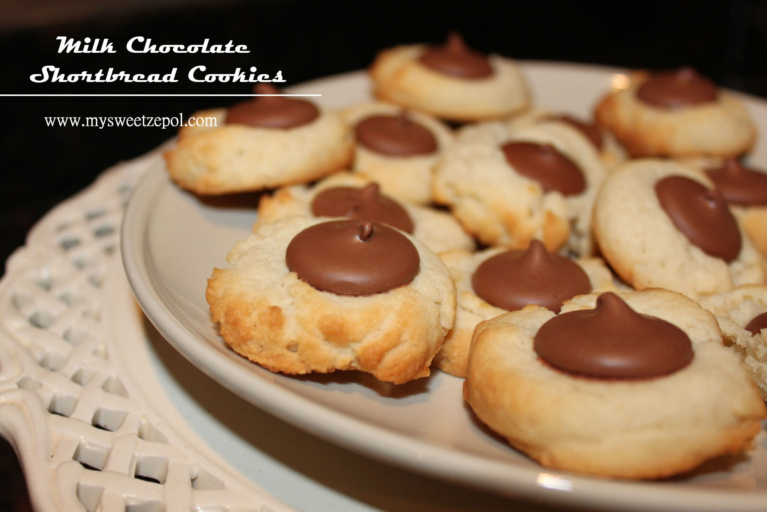 My Sweet Zepol » Milk Chocolate Shortbread Cookies