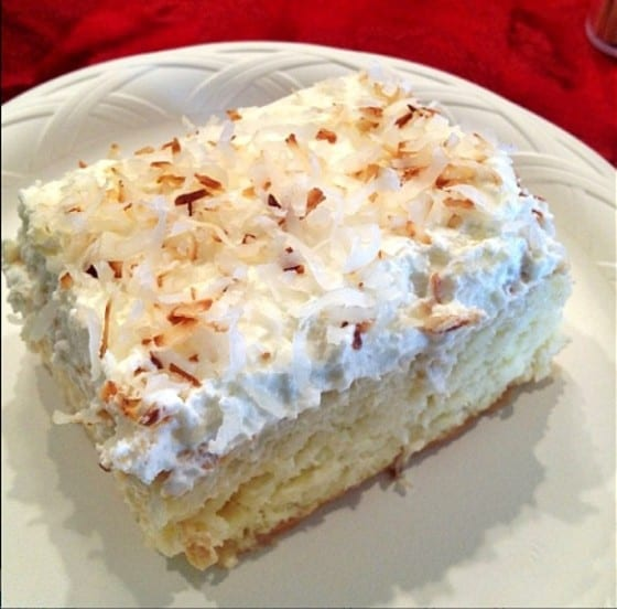 Coconut Tres Leche Cake (photo credits to Julius from Droolius) / My Sweet Zepol