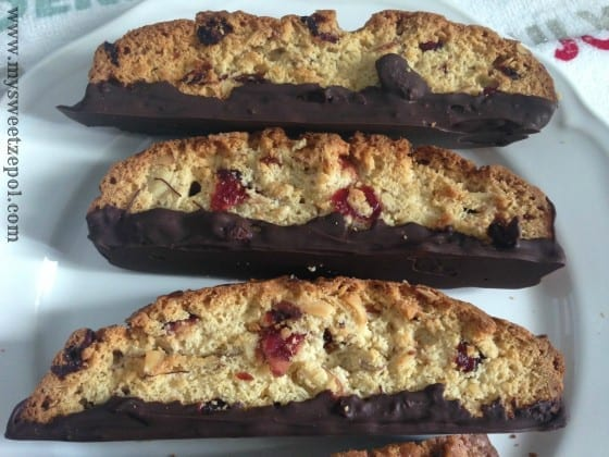 31-Days-of-Cookies-Almond-and-Cranberry-Biscotti-with-a-chocolate-bottom-my-sweet-zepol