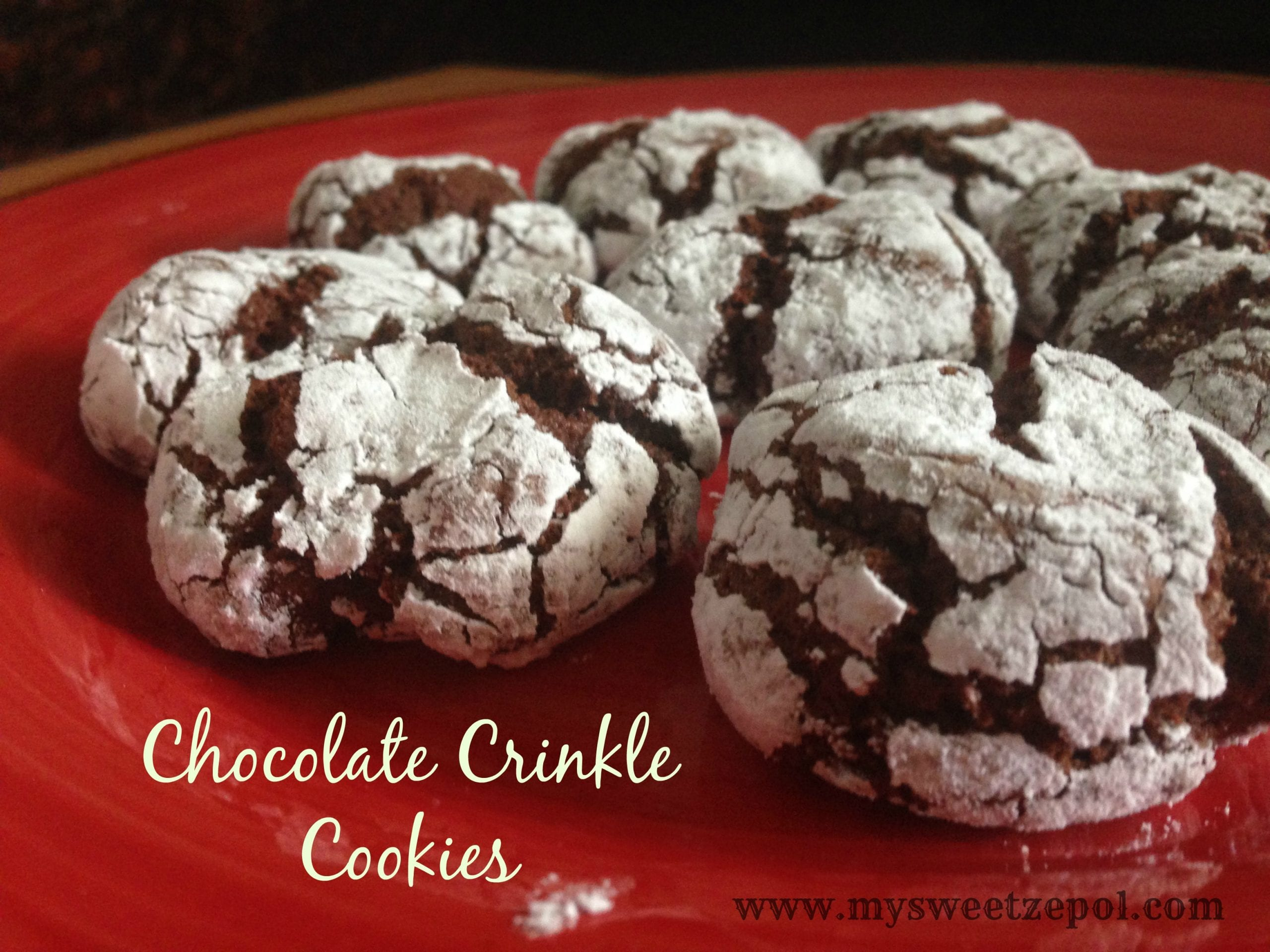 Mocha crinkles cookie recipe - Food for health recipes