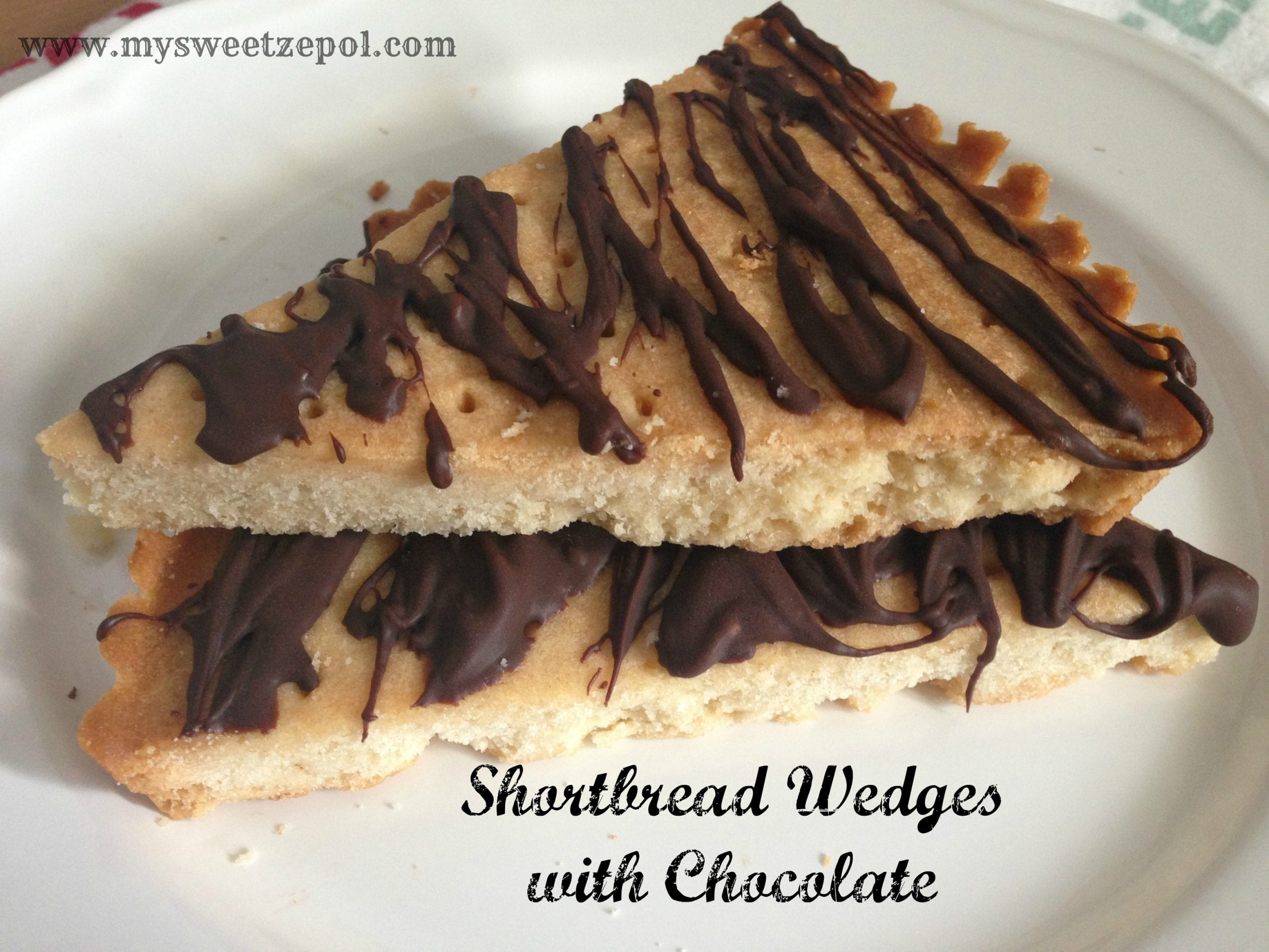 Pecan Shortbread With Chocolate Drizzle Recipes — Dishmaps