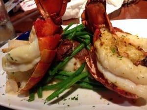 Dueling-Lobster-Tails-Red-Lobster-Lobsterfest-mysweetzepol