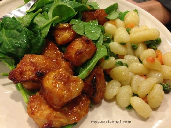 Sweet-and-Sour-Chicken-with-Spinach-and-Gnocchi-mysweetzepol