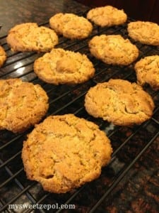 Peanut-Butter-and-Toffee-Cookies-my-sweet-zepol-out-of-the-oven