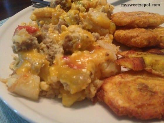 Cheesy-Sausage-Frittata-brunch-my-sweet-zepol-2014