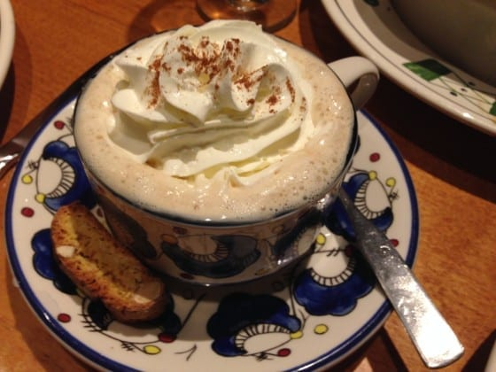 Olive-Garden-Capuccino-with-Whipped-Cream-and-Biscotti-cookies-mysweetzepol