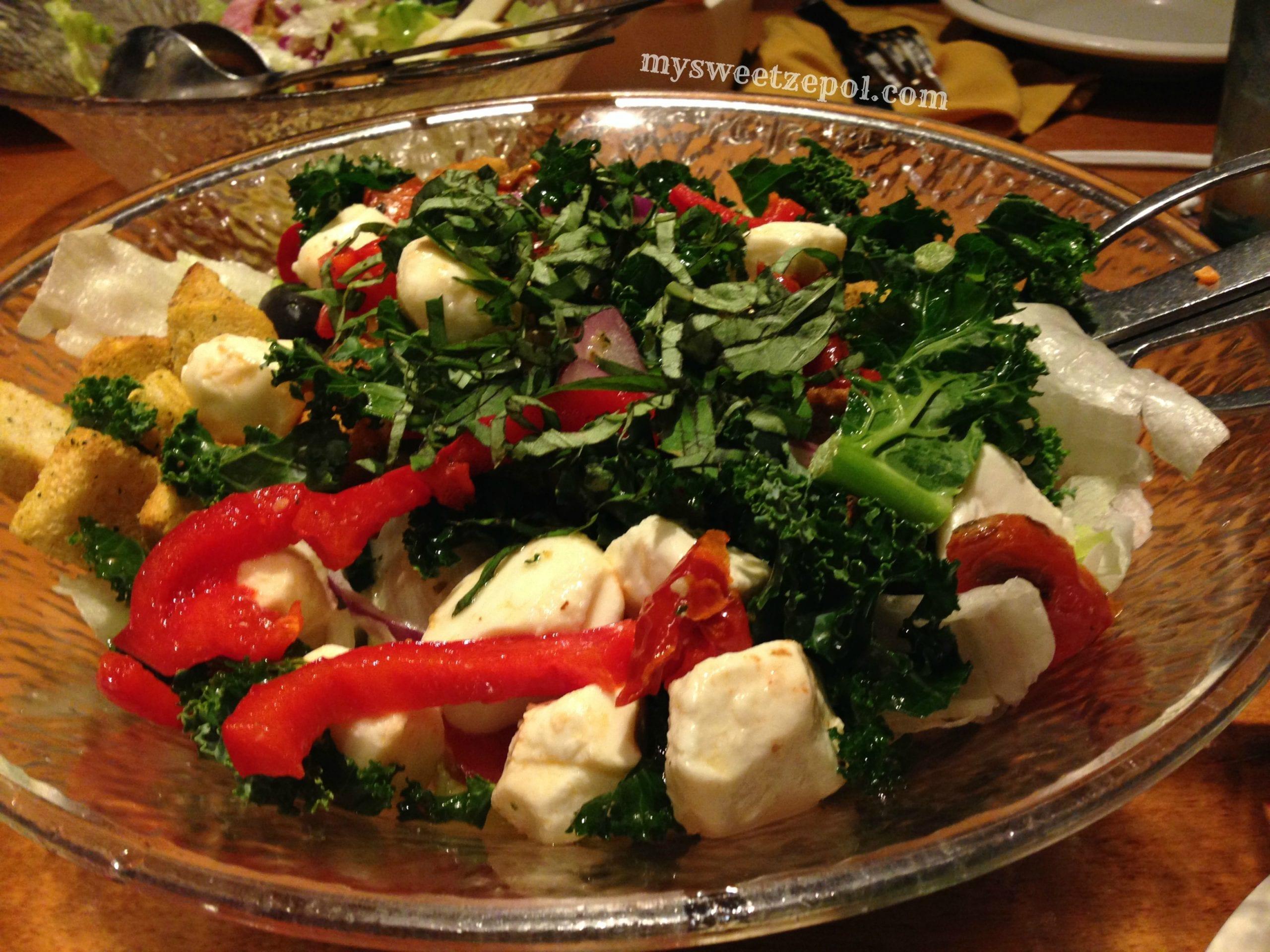 Tasting Olive Garden My Sweet Zepol