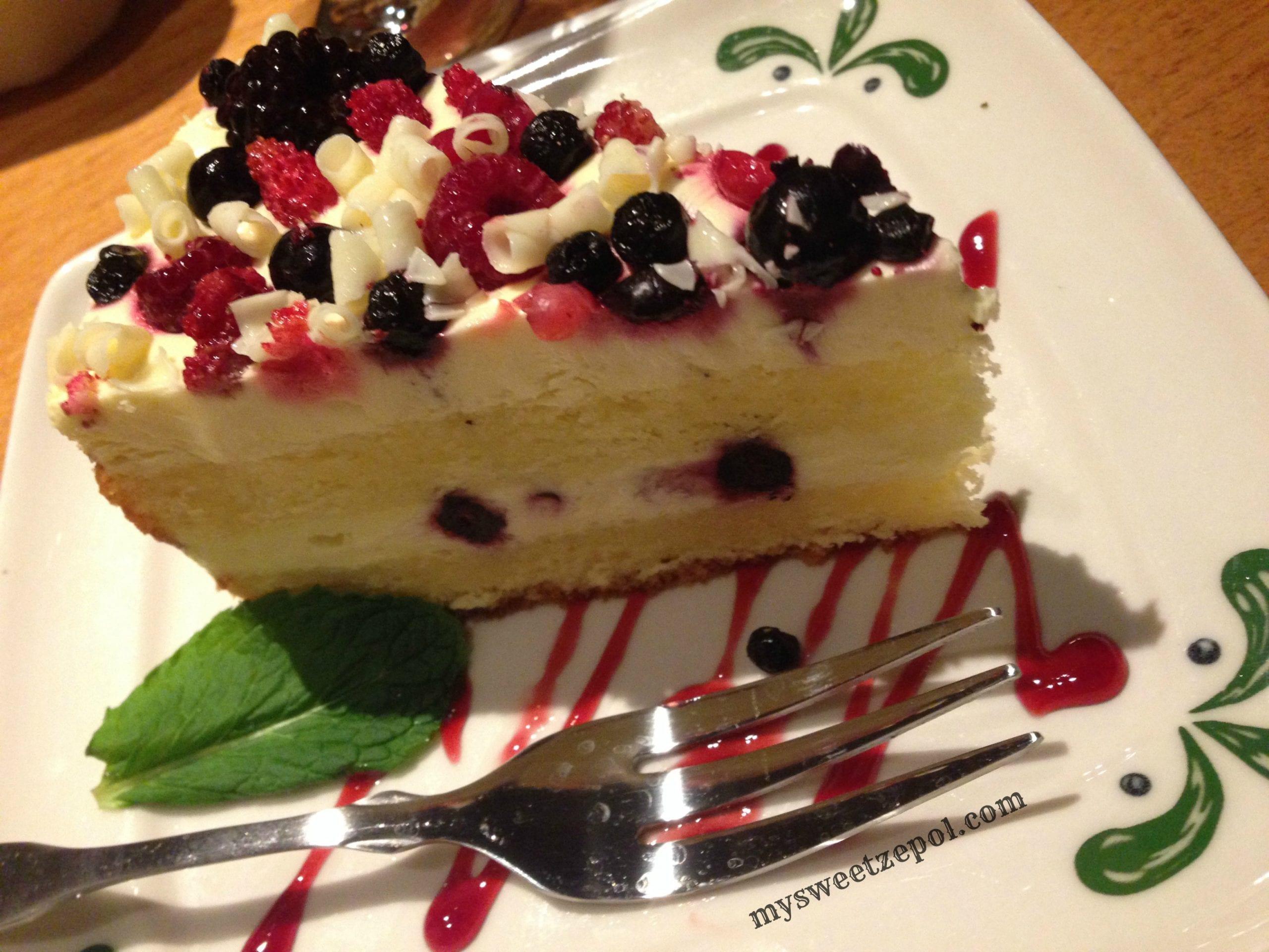 Tasting Olive Garden - My Sweet Zepol
