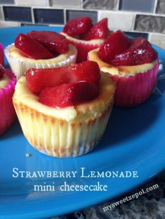 Strawberry-lemonade-mini-cheesecake-mysweetzepol