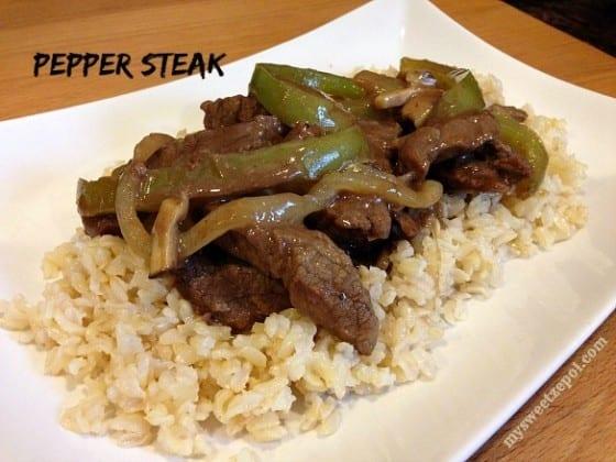 Pepper-Steak-and-brown-rice-mysweetzepol-2014
