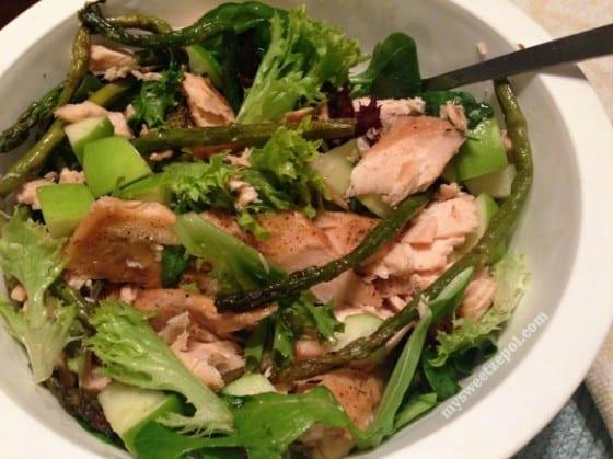 Salmon-Salad-FarmersMarket-mysweetzepol-2014