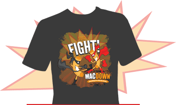 O-Town MacDown T-shirt GKTW / My Sweet Zepol