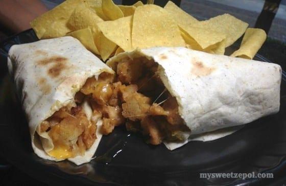 Sweet Hemptation new hemp burrito from Tijuana Flats #TFlatsHemp