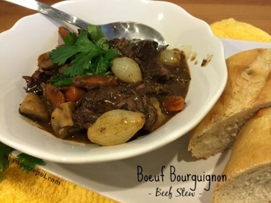 Boeuf Bourguignon / My Sweet Zepol #beefstew