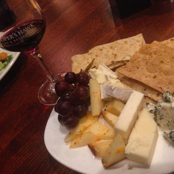 Cheese Sample paired with Cooper'sHawk Red Wine / My Sweet Zepol / #CHWineryOrlando