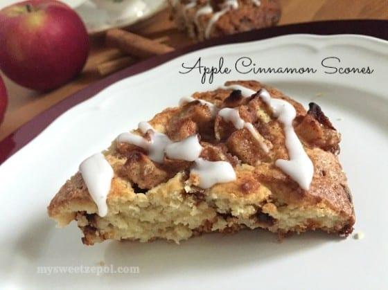 Apple Cinnamon Scones / My Sweet Zepol /