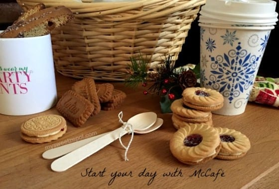 Start your day with McCafé / gift basket / My Sweet Zepol / #McCafeMyWay