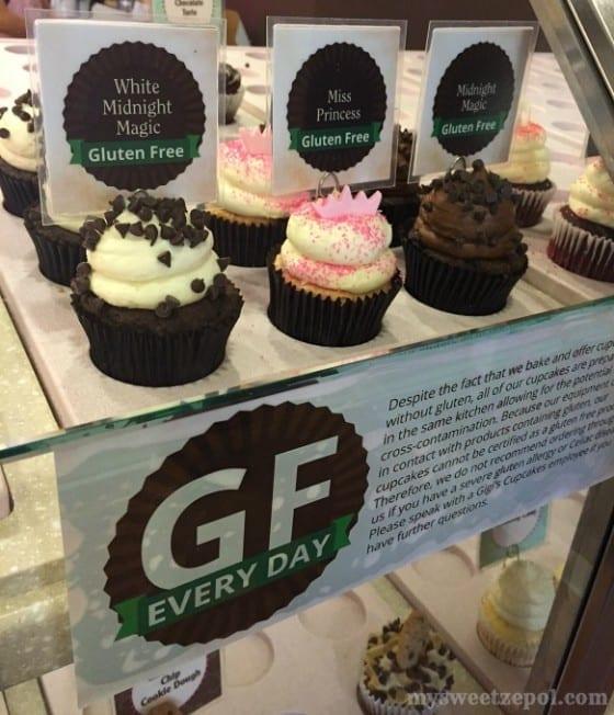 Gigi's Cupcakes #GFreeGigis / My Sweet Zepol
