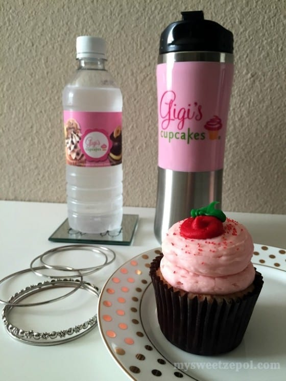 Strawberry Shortcake #GFreeGigis with Gigi's Water Bottle and Gigi's Tumbler / My Sweet Zepol