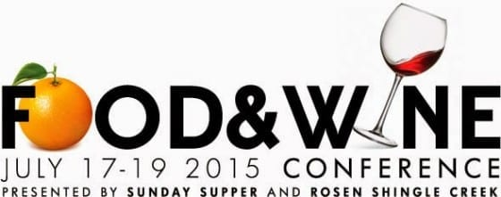 Food and Wine Conference 2015 / #FWCon2015