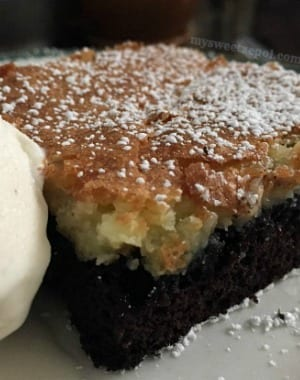 Cream Cheese Crust Chocolate Cake #FWCon