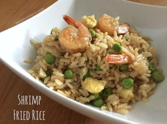 Shrimp Fried Rice / #recipe by My Sweet Zepol / #MSZrecipes