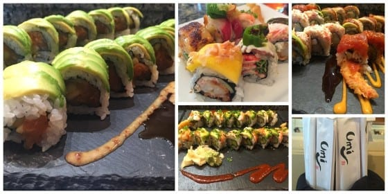 Umi Signature Rolls / a small collection of Umi's signature rolls / #umiwinterpark / My Sweet Zepol