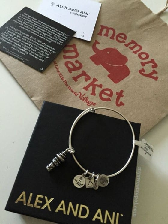 Alex and Ani / Charity by Design for Give Kids the World / #MSZgiveback