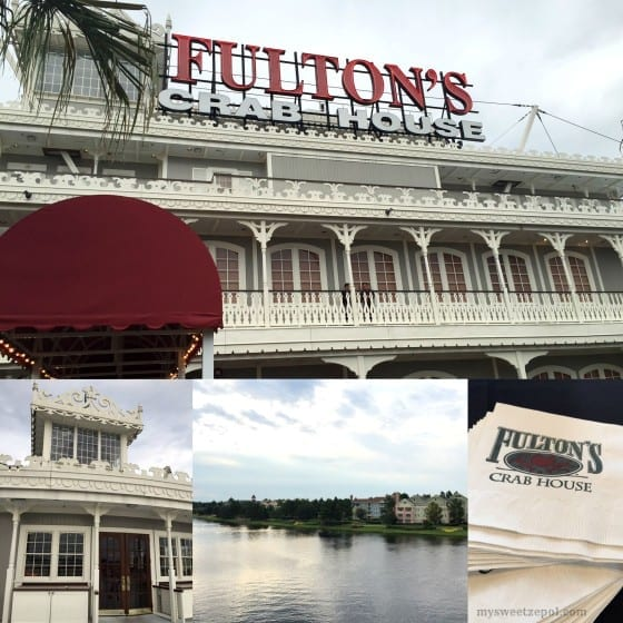 Fulton's Crab House / a stunning Riverboat restautant that serves fresh seafood year round / Located in Downtown Disney / #CFLadyBloggers / My Sweet Zepol
