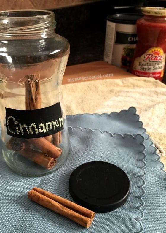 Spice Jars craft with Campbell's / Grand Stand for Schools / #CollectiveBias / by My Sweet Zepol #ad