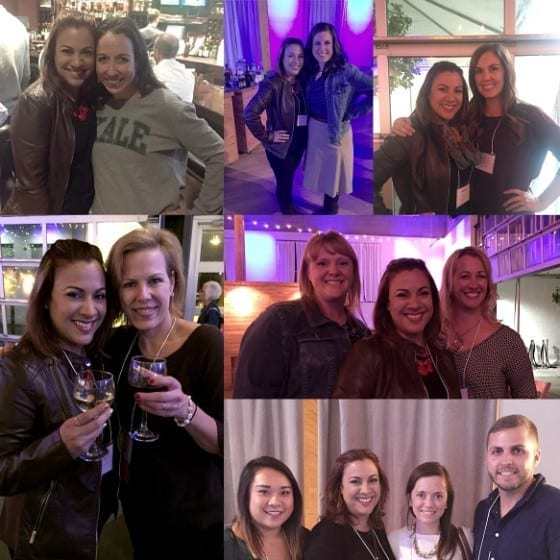 Chopped Conference #ChoppedCon15 / fellow bloggers collage / My Sweet Zepol / #foodbloggers