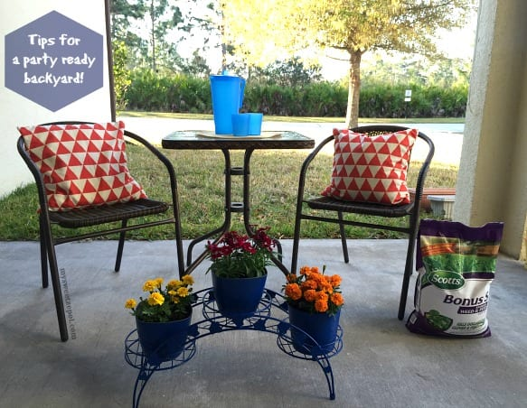 Tips For A Party Ready Backyard My Sweet Zepol