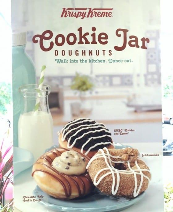Cookie Jar Doughnuts from Krispy Kreme / My Sweet Zepol #cflb #KrispyKremeOrlando