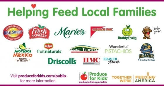 Helping feed local families with Produce For Kids and Publix #produceforkids ad