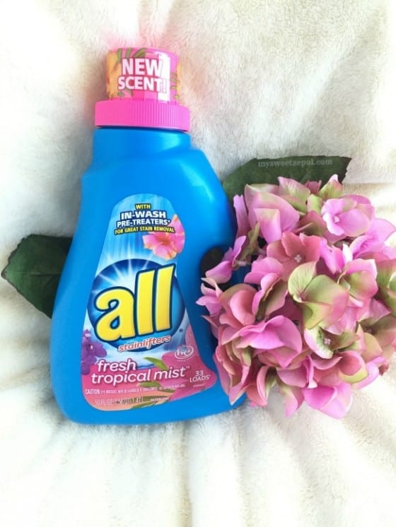 all® Fresh Tropical Mist™ / #BringTheTropicsHome #CollectiveBias ad by My Sweet Zepol blog