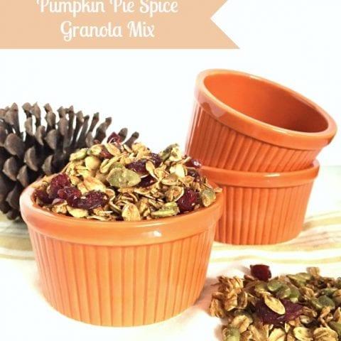 Pumpkin Pie Spice Granola