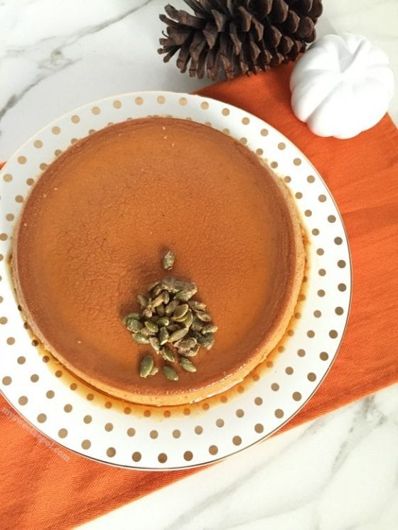 Make this Pumpkin Flan now, it's the best fall recipe you'll ever taste / by My Sweet Zepol #foodblog