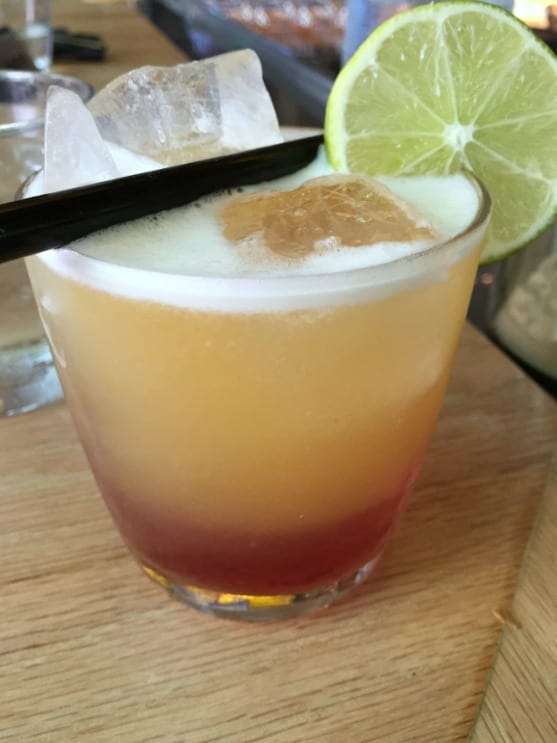 I believe this drink is the Muy Buen Peche, it's perfection in a glass from Canvas Restaurant and Market in Lake Nona in the Orlando area / by Wanda Lopez from My Sweet Zepol #foodandtravelblog