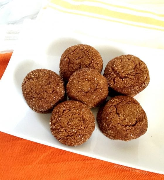 Find out how I turn a holiday classic cookie like these molasses cookies into a great treat perfect for any time of the year! by My Sweet Zepol #foodblog #recipe