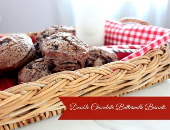 Double Chocolate Buttermilk Biscuits / a #recipe you want to try now / by My Sweet Zepol #foodblog